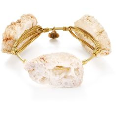Bourbon & Boweties Geode Bangle (65 CAD) ❤ liked on Polyvore featuring jewelry, bracelets, hinged bangle, bracelets bangle, hinged bracelet, bangle jewelry and geode jewelry
