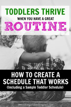 Need a Routine for Your Toddler Newborn Baby or Preschooler? How to Create a rhythm for your family that will promote better behavior consistent mealtimes playtime and sleep. Sample routines for newborns babies toddlers and preschoolers. Routine For Newborn, Toddler Routine, Newborn Schedule, Toddler Schedule, Schedule For Toddlers, Bedtime Routine, Toddler Fun, Toddler Snacks, Toddler Preschool