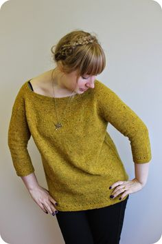 Ravelry: La grasse matinée pattern by Anna Johanna frère pattern 4 ply tweed Knitting Blogs, Knitting Patterns Free, Knit Patterns, Free Knitting, Free Pattern, Knitting Ideas, Knitting Projects, Tweed, Ravelry