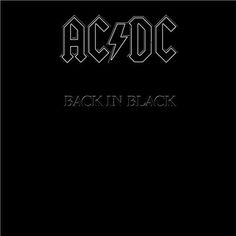 AC/DC: Back in Black Album Cover Parodies. A list of all the groups that have released album covers that look like the AC/DC Back in Black album. Famous Album Covers, Rock Album Covers, Music Album Covers, Music Albums, Music Books, Music Music, Acdc Music, Music Genre, Soul Music