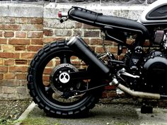 MK20 MTKN  this is the 3th blast Triumph of MotoKouture Bespoke Motorcycles .   Pipes are loud, tyres scream for dirt, Luggage rack w...