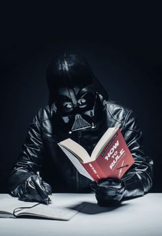 satisfies both my obsessions for Star Wars and reading