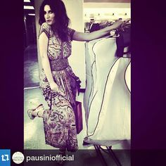 #laurapausini in #miami #wear #elesitalia #belt #accessories #fashionbrand #italianbrand #madeinitaly #handmade #fascia #eles