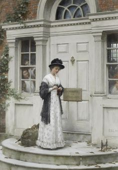 the-new-governess-Edmund-Blair-Leighton