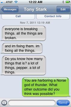 Texts from Tony
