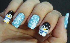 Esmalte das leitoras: pinguins - Clube do Esmalte - CAPRICHO