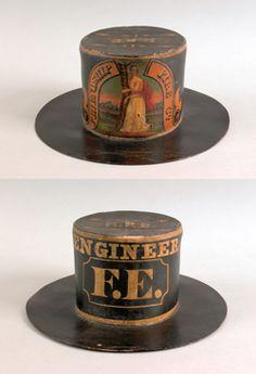 Vintage - Antique - Fireman's Parade Hat