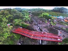 Menikmati Obyek Wisata Baturaden Purwokerto dari Langit