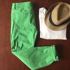 Urban Outfitters Denim - Bright green BDG mid rise denim NWT