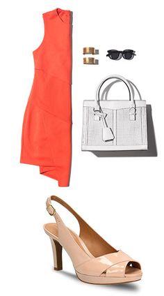 Ein wunderbares Outfit für die Clarks Delsie Kala, 99,95 Euro: http://www.clarks.de/p/26105771