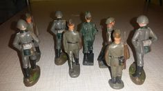Antike Massefiguren Soldaten NVA Linol | eBay