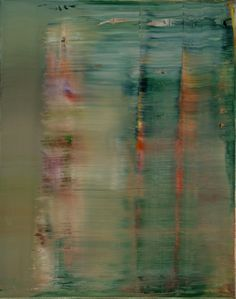 Gerhard Richter - Abstract Painting, 2000, 72 cm x 57 cm