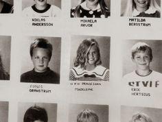 Princess Madeleine school picture.  Circa 1991
