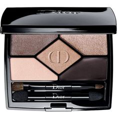 Dior 5 Colors Designer The Makeup Artist Tutorial Palette ($62) ❤ liked on Polyvore featuring beauty products, makeup, eye makeup, eyeshadow, christian dior, christian dior eyeshadow, palette eyeshadow and christian dior eye shadow