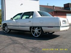 Get 95 Cadillac Fleetwood On 24S