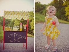 Lemonade Stand Shoot