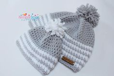CROCHET HAT PATTERN Arctic Flurry Crochet Hat Pattern Winter
