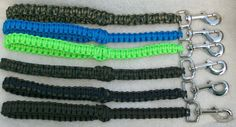 Paracord Dog Leash Traffic Lead Short Leash. $12.00, via Etsy.
