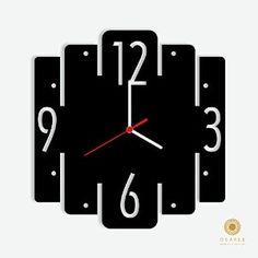 Reloj que puede ser en madera