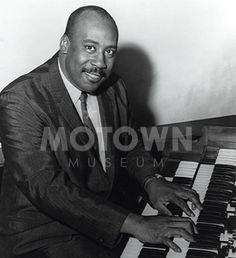 Earl Van Dyke, keyboardist and leader of the Funk Brothers, Motown studio house band.