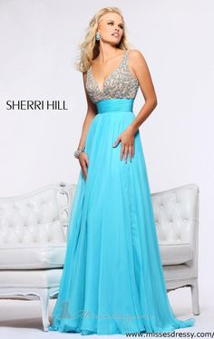 48 Sherri Hill Prom Dresses 2013 - I would use this as a bridesmaid dress! Beautiful!