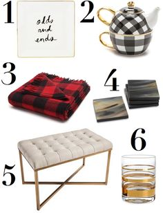 Above is a handful of cozy, winterfinds I'm lusting afterlately. Between the baked goods (shameless) and the decorating, theholidays are my absolute favorite time of year. It's such fun adding w...