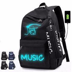 194622e8e7 Night Luminous Backpack Boys Girls Bookbag Cool School Bag Shoulder Bags  Premium #fashion #clothing