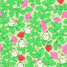 Create a Detailed, Illustrative, Seamless Pattern in Adobe Photoshop #Tutorial #GraphicDesign #Photoshop