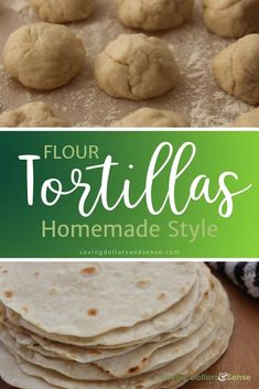 Try these Homestyle Flour Tortillas the next time you are enjoying a recipe that calls for them and you will be pleasantly surprised by how easy they are to make your own homemade tortillas and how simple the ingredients are in this recipe. Easy Dinner Recipes, Fall Recipes, Appetizer Recipes, Dessert Recipes, Simple Recipes, Recipes With Flour Tortillas, Homemade Flour Tortillas, Corn Tortillas, Veggetti Recipes