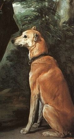 """Detall de gos del """"Cardenal Infante Fernando de Austria"""" per  Diego Velazquez (1633)"""
