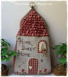 De Todo Un Poco: TUTORIAL: BOQUILLA COTTAGE (porte monnaie home country)