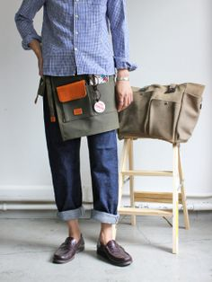 hobo Washed Canvas No.6 Apron