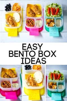 #AD Easy Bento Box Ideas #PackInPotential @TysonBrand @Walmart