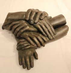 Family Hands - Life Cast by Stephen Cole