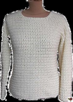 Crochet top (click on: Explications La fiche technique du pull tube en Irlandais de chez Lammy) to get the pattern PDF