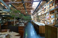 Cuines Santa Catarina...An eatery in a market. Where different cuisines and fresh produce meet under a big open space, simply designed with communal tables and dotted with trees. Why didn't anyone think of it before?