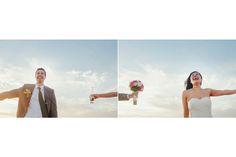 bride and groom portrat