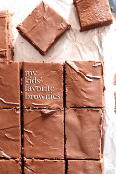 My Kids Favorite Brownies