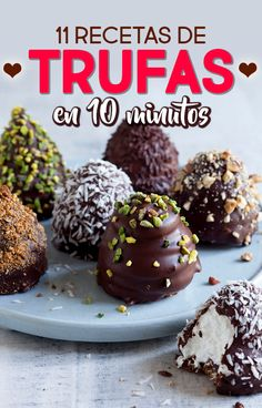 11 truffle recipes you can do in less than 10 minutes, Desserts, 11 Recipes with truffles to make in 10 minutes. Recipes with truffles. How to make desserts Food with truffles. Gourmet Recipes, Sweet Recipes, Dessert Recipes, Chocolate Truffles, Chocolate Recipes, Truffle Recipe, Sweet Potato Soup, Desserts To Make, Clean Eating Snacks