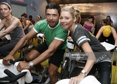 Mark Consuelos and Kelly Ripa attend the Action for Healthy Kids Benefit at SoulCycle Tribeca on May 4, 2011 in New York City.