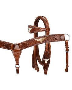Showman Headstall and Breast Collar Set - #7160
