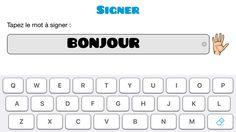 Capture d'écran application motricité fine Computer Keyboard, Gaming, Computer Keypad, Keyboard
