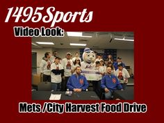 1495 Sports look at the Mets and City Harvest food drive