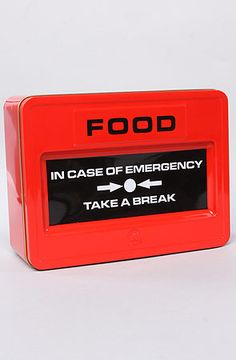 Mustard The Emergency Food Tin : Karmaloop.com - Global Concrete Culture