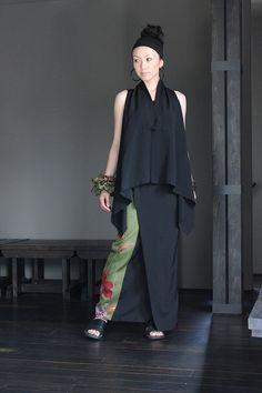 画像1: 変形巻きスカート