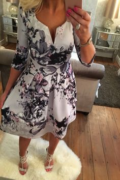 Image 1 Affordable Dresses, Cheap Dresses, Skater Dress, Stitch Fix, Lady, Womens Fashion, Casual, Clothes, Floral Fashion