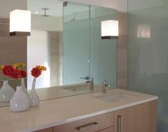 Sinks Wall Sconces And The Mirror On Pinterest