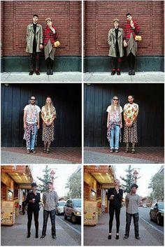 La última moda: Parejas que se intercambian la ropa
