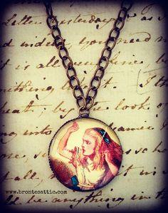Alice in Wonderland Necklace. $14.00, via Etsy.