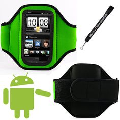 Green Comfy Sport band / Workout Armband Adjustable Neoprene Velcro Strap For LG Cookie Lite Optimus One 3D Black Me Viewty Snap GM360 Thrill 4G GT540 OPTIMUS GD880 Touch OPTIMUS Sol OPTIMUS Hub Enlighten Esteem Marquee OPTIMUS Net. Comfortable and adjustable Velcro Strap, Machine Washable (Normal). Access your music and the touch screen while armband is in use with cell phone. Do your business, run errands or exercise to your heart's content. Includes a Home Wall Retractable Charger with...